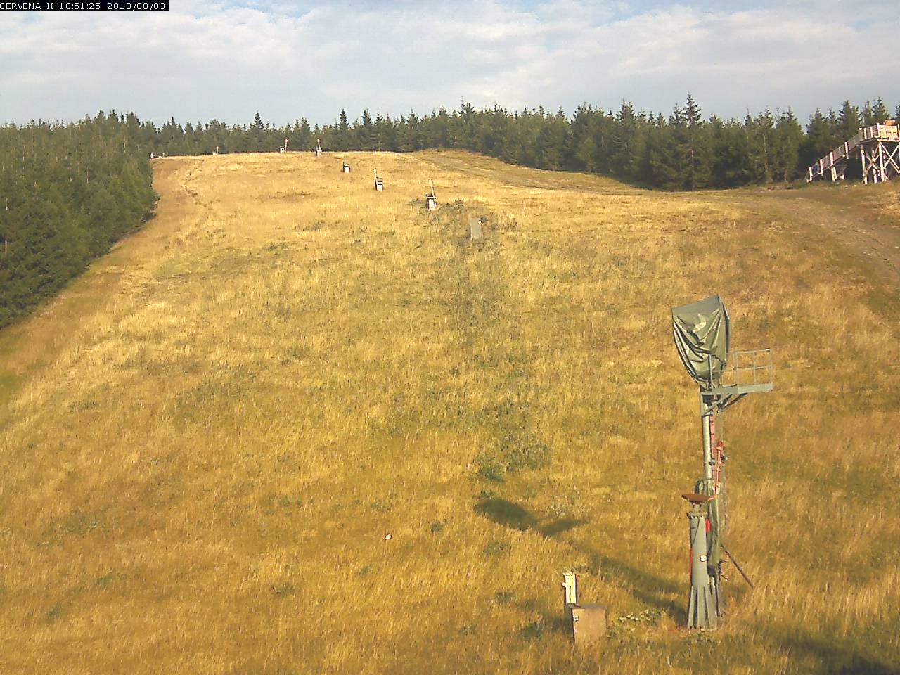 Webcam Skigebied Harrachov cam 5 - Reuzengebergte