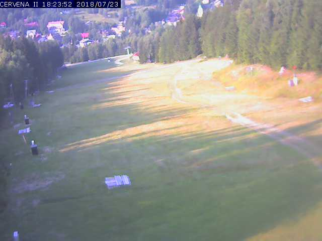 Webcam Skigebiet Harrachov cam 6 - Riesengebirge
