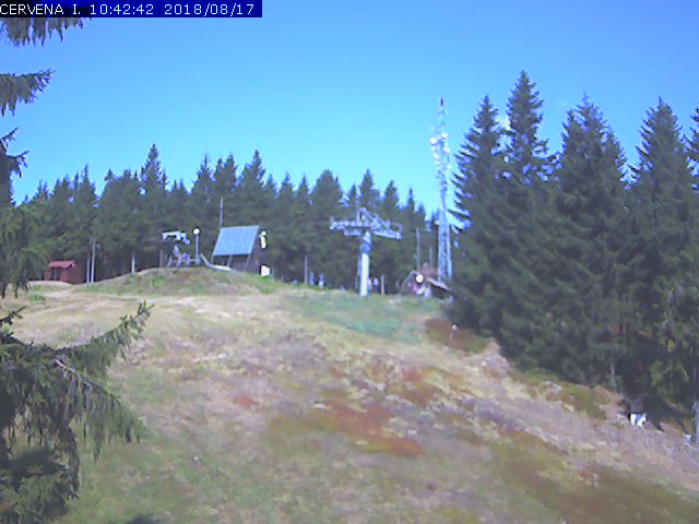 Webcam Skigebiet Harrachov cam 13 - Riesengebirge