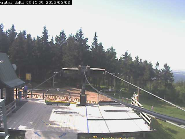 Webcam Skigebiet Harrachov cam 2 - Riesengebirge