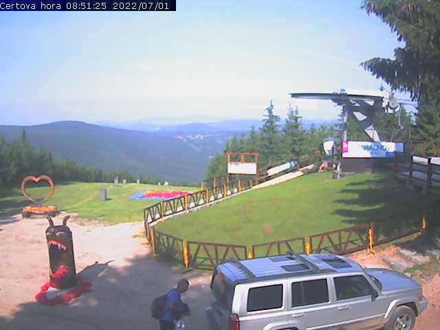 Webcam - Čertova hora