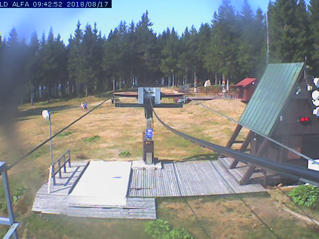 Webcam Skigebiet Harrachov Riesengebirge