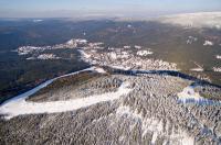 Sportovní areál Harrachov v zimě